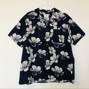 GoodFellow Hawaiian Short Sleeve Button-up Shirt
